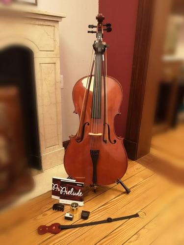 Cello Gewa Poco Uso C/accesorios(no Se Venden Por Separado)
