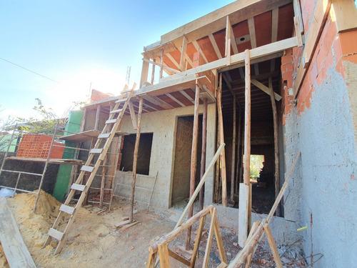 Imagem 1 de 25 de Casa Plana Em Construção Com 2 Dormitórios À Venda, 78 M² Por R$ 329.000 - Ca3894