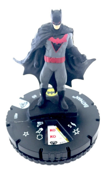 Wikzids Heroclix Superman Wonder Woman Set Batman #003 C