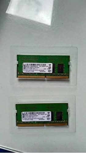 Kit 2 Memórias Dell Smart 2x4gb Ddr4 Sodimm 2133 Mhz