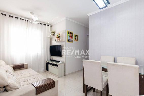 Apartamento Com 2 Dormitórios À Venda, 46 M² Por R$ 145.000,00 - Jardim Petrópolis - Cotia/sp - Ap0262