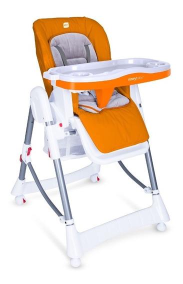 Silla Conforta Bebe Para Comer Naranja Nowy Baby