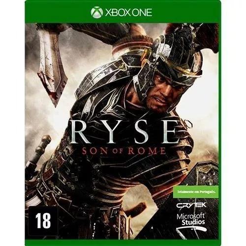 Ryse Mídia Física Xbox One Física Novo Port. Frete Grátis