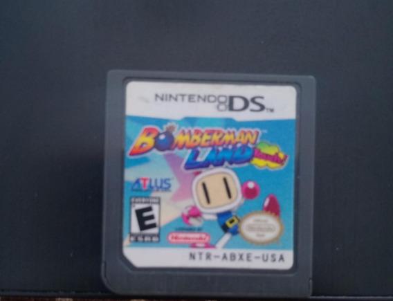 Game Original Nintendo 3ds 2ds Ds Lite Bomberman Land Touch!
