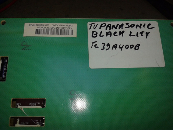Placa Black Lity Da Tv Panasonic Tc39a400b