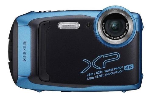 Fujifilm FinePix XP140 compacta cor  sky blue