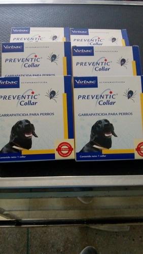 Collar Preventic. Control De Pulgas Y Garrapatas Por 3 Meses