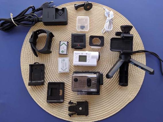 Action Cam 4k Fdr X3000 Wi-fi E Gps [+ Acessórios Extras]