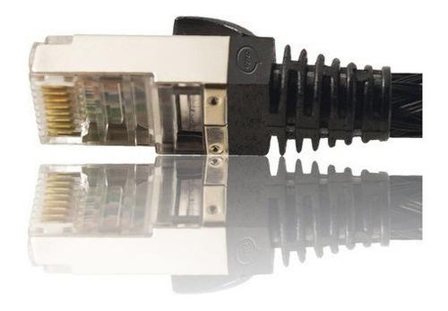Imagem 1 de 7 de Patch Cord Cat6 1,5 Metros Rj45 Blindado Roteador Gamer