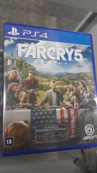 Far Cry 5 Ps4 Mídia Física Original Campinas