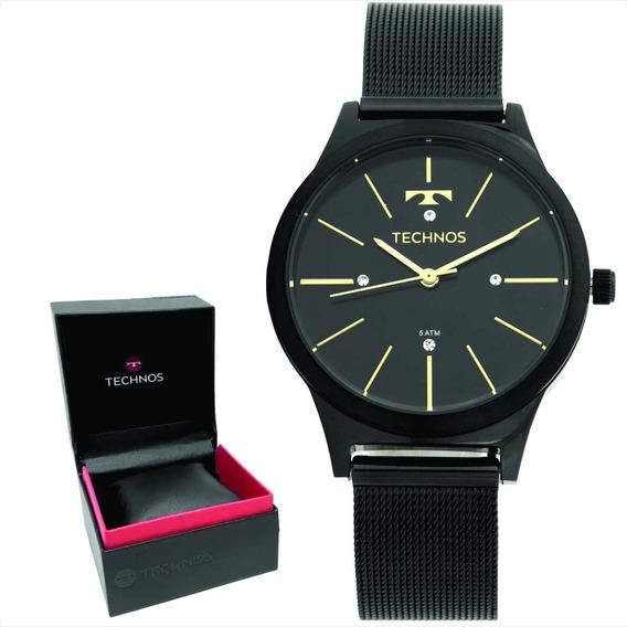 Relógio Technos Feminino Original C/garantia E Nf 2039bg/4p