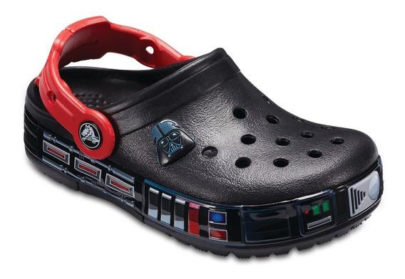 Crocs Original Fl K Darth Vader Clog 001 Stars Wars Con Luz