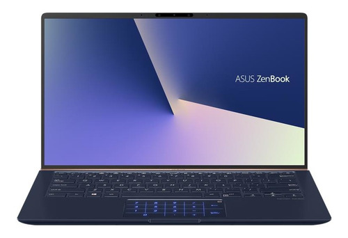 "Imagen 1 de 6 de Notebook Asus ZenBook UX433FLC azul 14"", Intel Core i5 10210U  8GB de RAM 512GB SSD 32GB Optane, NVIDIA GeForce MX250 60 Hz 1920x1080px Windows 10 Home"
