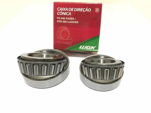Caixa Direção Xt 600 Xt 660r Rd 350 Rolamento Conico Wgk