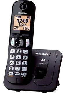 Telefone S/ Fio Panasonic Kx-tgc210lbb, Id.chamada,viva Voz