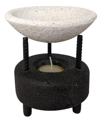Hornito De Piedra Para Esencia Aromatico Decoracion Pequeño