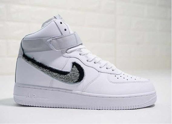 Nike Air Force 1 High Chenille Swoosh Por Encargue