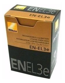 Bateria Original En-el3e P/ D50 D70 D80 D90 D100 Cp88