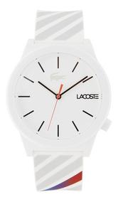 Relógio Lacoste Unisex Pulseira Silicone Branco - 2010935