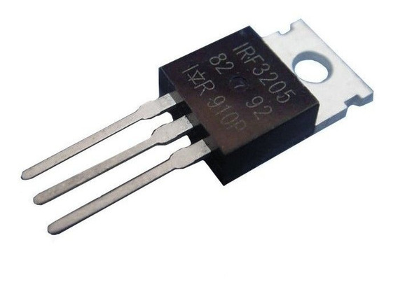 Pack 10 X Transistor Irf3205 Irf3205pbf 55v 98a To-220