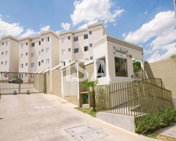 Apartamento Venda, Condomínio Spazio Sardegna, Vila Jardini, Sorocaba, 02 Dormitórios, 01 Banheiro, Sala Para 02 Ambientes, 01 Vaga Coberta. - Ap02208 - 34699028