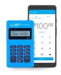 Imagem 1 de 3 de Maquina De Cartão Mini Pont Bluetooth Sem Chip