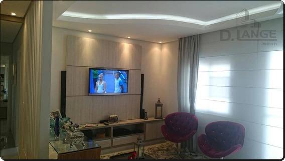 Apartamento À Venda, 78 M² Por R$ 550.000,00 - Parque Prado - Campinas/sp - Ap13237