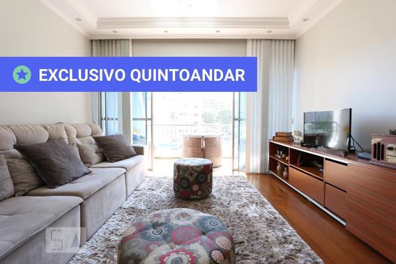 Apartamento No 7º Andar Mobiliado Com 3 Dormitórios E 2 Garagens - Id: 892944776 - 244776