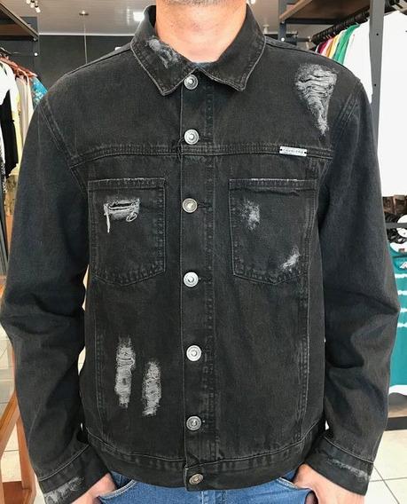 Jaqueta Cavalera Kristopher Black Jeans 06.03.0358
