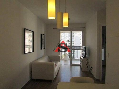 Apartamento Com 2 Dormitórios À Venda, 57 M² Por R$ 940.000,00 - Moema - São Paulo/sp - Ap41317