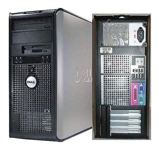 Cpu Dell 380 Torre Core 2 Duo 4gb Ssd 120gb Windows7 + Frete