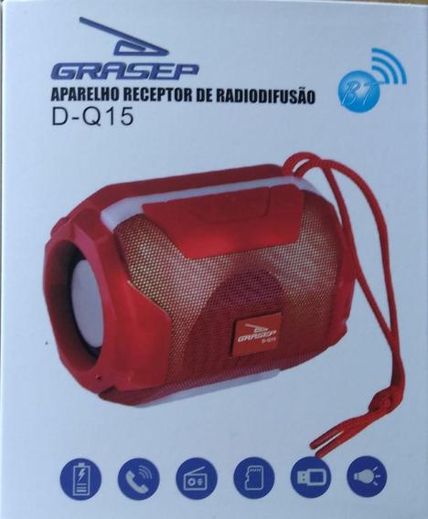 Caixa De Som Bluetooth Portátil D-q15