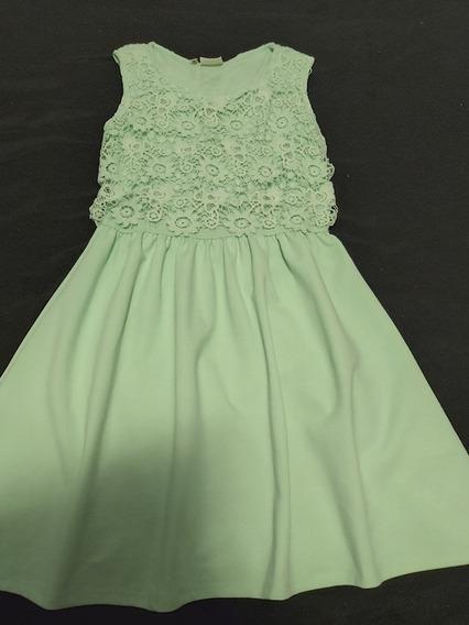 Vestido Zara Girls Verde