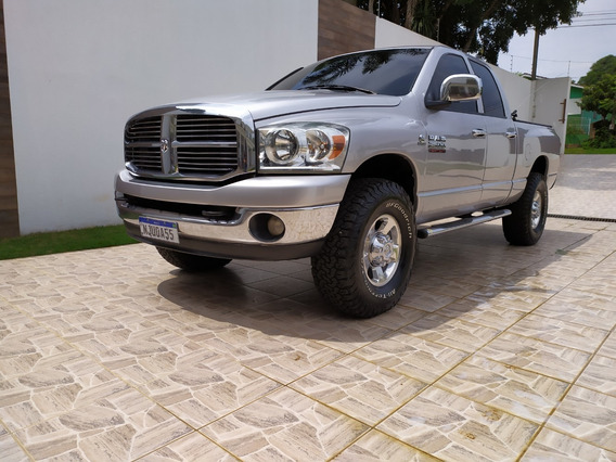 Dodge Ram 2500, Cd, 4x4, 2009/09, Prata, Top