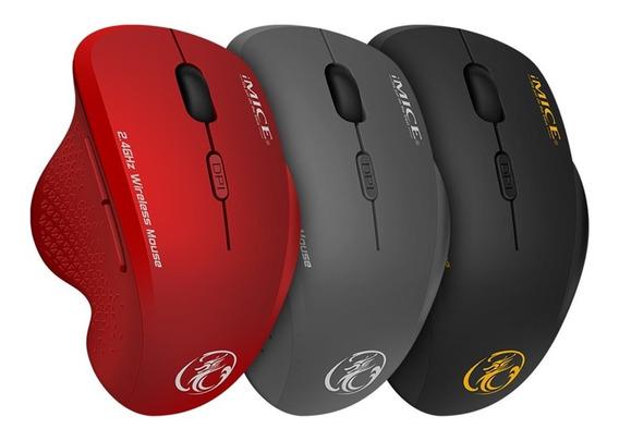 Imice G6 Usb Sem Fio Mouse 1600dpi Para Laptop Vermelho