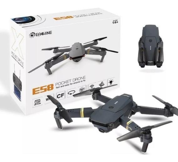 Drone Original Completo Com Câmera Filma Fotografa Ao Vivo