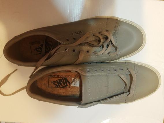 Zapatillas Vans De Cuero