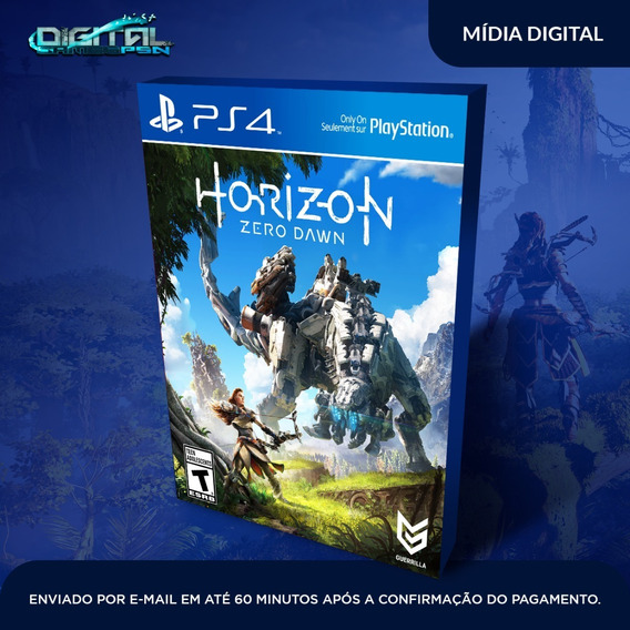 Horizon Zero Dawn Ps4 Jogo Digital Completo Envio Imediato!