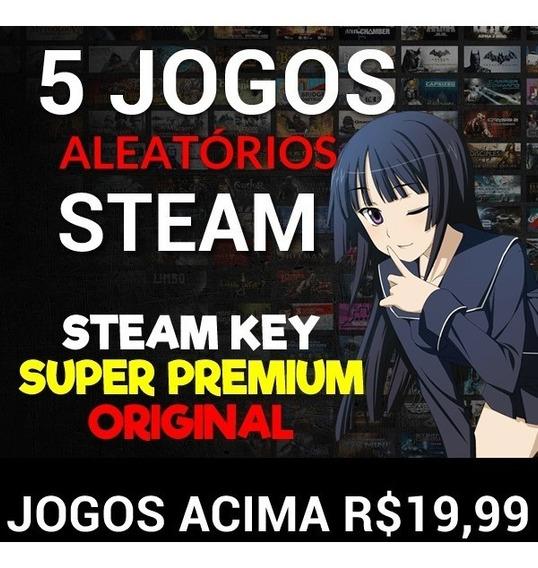 5 Jogos Key Steam Super Premium. Jogos Acima De 19,99