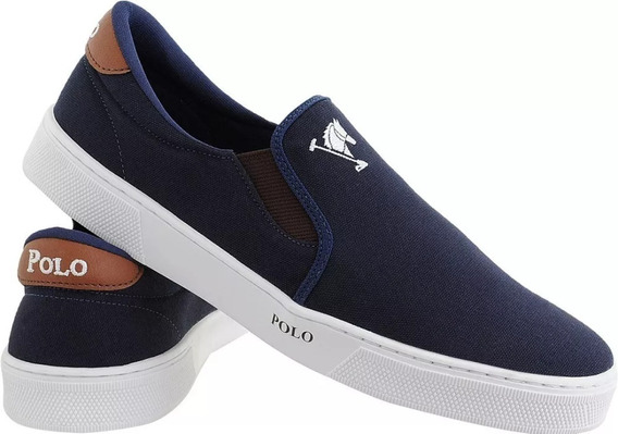 Sapatilha Slip On Mascu Tenis Polo Joy Iate Original.