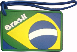 Tag Identificador De Mala Brasil Para Bolsas Mochila Bagagem