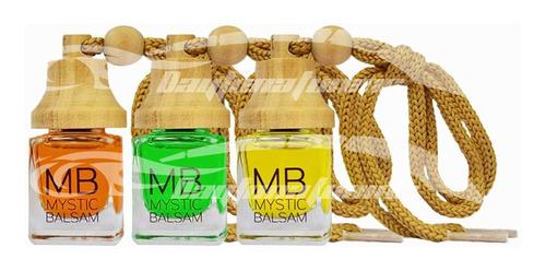 Imagen 1 de 5 de Perfume Para Autos,casa,hogar, Mystic Balsam Mb X 3 Unidades