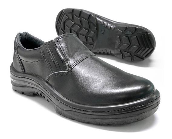 Kit 3 Pares Sapato De Segurança Ocupacional Confort Elástico