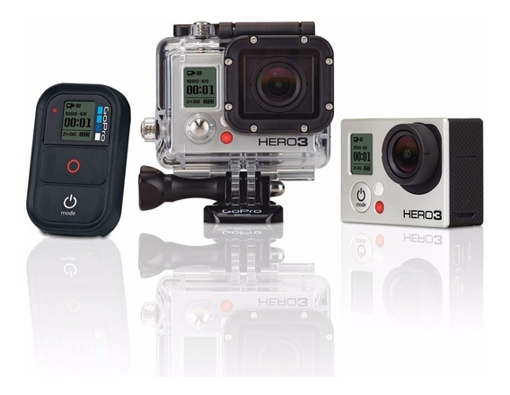 Gopro Hero 3 Black Edition + 3 Way Stick + Bastão