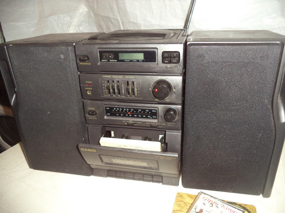 Micro System, Radio Toca Cd Toca Fitas, Casio Nd-110s