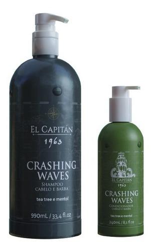 Kit Shampoo 990ml E Cond 240ml Crashing Waves El Capitan