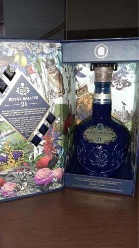 Whisky Royal Salute 21 Años Original Sellado Entrega Inmedia