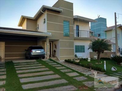 Casa Com 3 Dormitórios À Venda, 223 M² Por R$ 835.000 - Condomínio Flamboyant - Hortolândia/sp - Ca6139