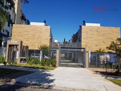 Oportunidade - Casa Nova Em Condomínio Com 3 Dormitórios E 2 Vagas No Bairro Chácara Das Pedras - Ca0312