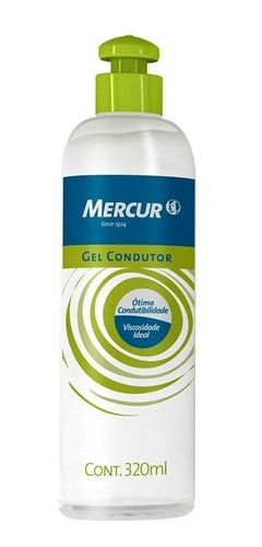 Gel Condutor 320 Ml Mercur Frasco